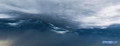 Cloud Amazing Alien Invasion Waves Apocalypse Herald