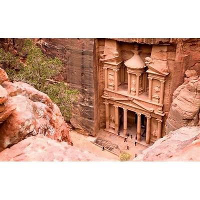 Different views of Petra - The Inside Track