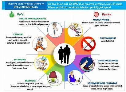 Prevention Fall Elderly Falls Senior Awareness Prevent