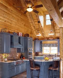 Log Cabin Kitchen Cabinet Ideas by Log Cabin Kitchens With Modern And Rustic Style