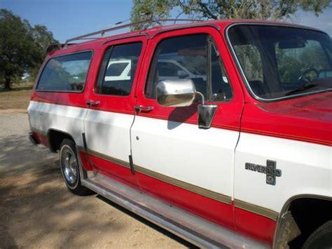 Purchase Used 1984 Chevy Suburban Silverado In Castroville