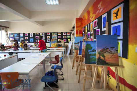 galaxy international school uganda art room