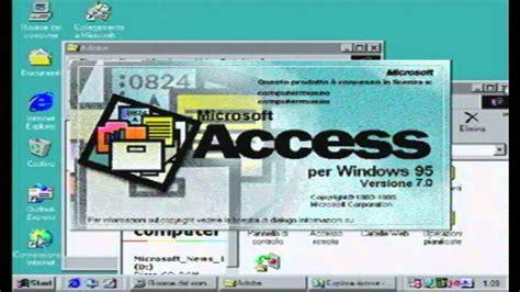 Microsoft Office 95 Professional [rarità Italiana] Demo