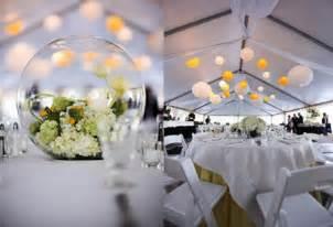 decorations de mariage décoration de mariage jaune moderne mariage idées