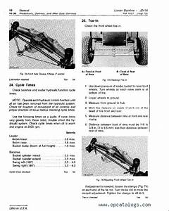 John Deere 410 Backhoe Loader Tm1037 Technical Manual