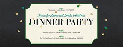 Dinner Party Free Online Invitations Dinner Invitation Template Free Printable Calendar Birthday Dinner Party Invitations Wording Drevio 19 Free Invitation Templates Wedding Birthday Dinner