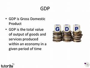 Understanding gross domestic product 2 - Financial Freedom ...