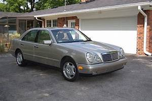 Sell Used 1998 Mercedes Benz E430 Smoke Silver   Parchment