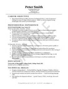 sle resume for experienced software engineer free download good qa resume sle back to post sle testing resume