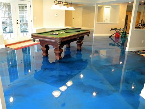 Epoxy: The hidden gem of basement flooring options