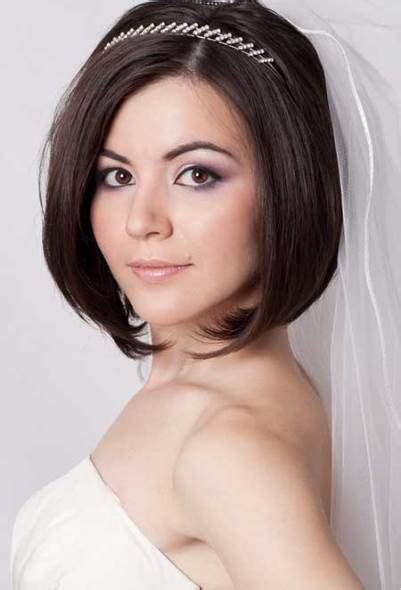 20 mesmerizing wedding hairstyles for short hair