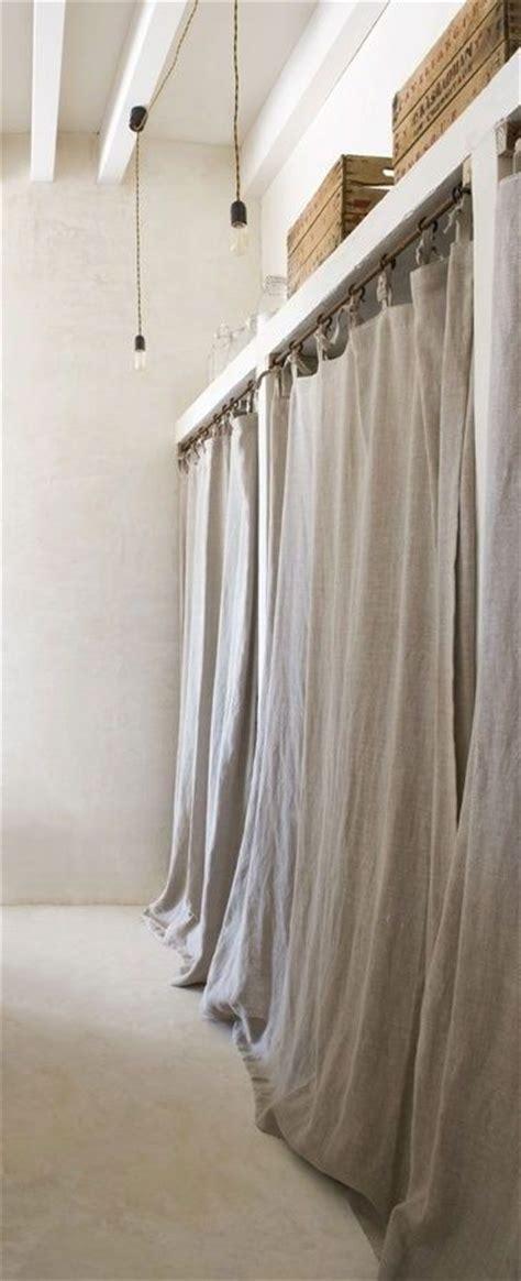 the 25 best closet door curtains ideas on
