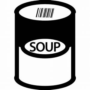 Soup can - Free food icons
