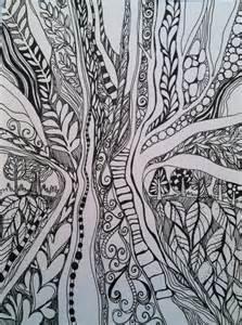Nature Doodle Patterns