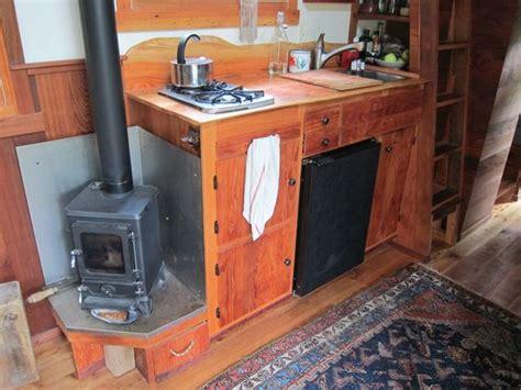 small rv wood stoves tiny house  reclaimed wood