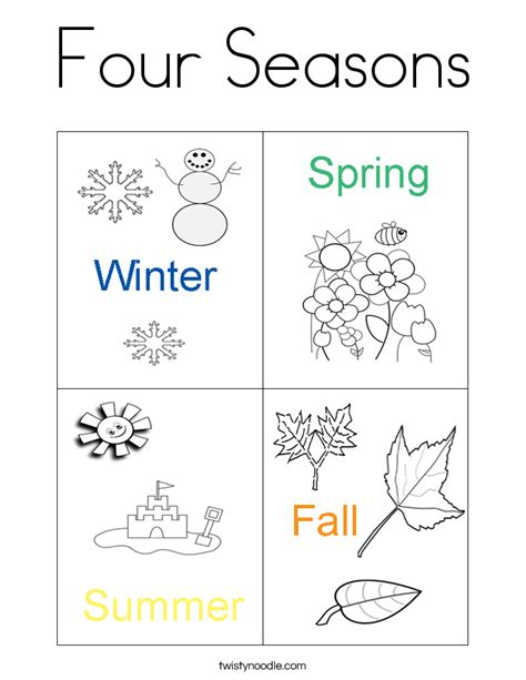 seasons worksheet for preschoolers worksheet to learn