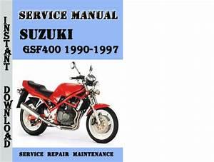 Suzuki Gsf400 Bandit 1990-1997 Service Repair Manual Pdf