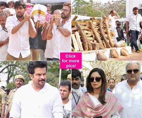 actress lakshmi funeral anil kapoor sridevi rana daggubati venkatesh attend