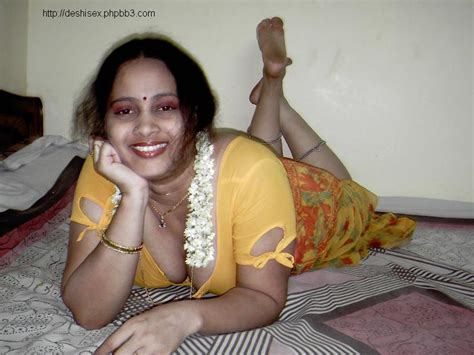 Fatty Aunties Blouse Deep Cleavage