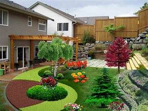 adorable landscaping ideas for small backyards character With 4 landscape design ideas for your beautiful garden