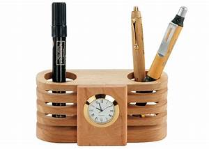 Pen Holder With Clock Digital Clocks With Pen Holder