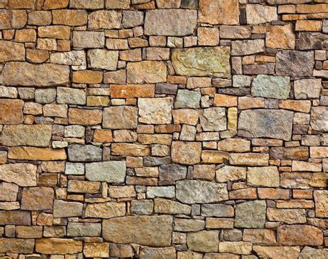 brick effect wall garden custom wallpaper mural print by