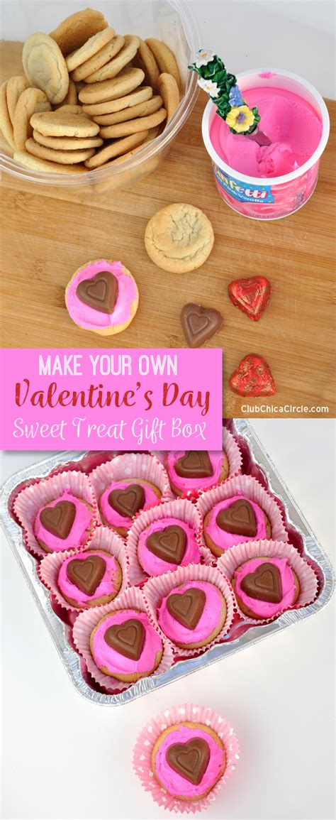 Valentine's Day Sweet Treat Gift Boxes Diy Plus $25 Giveaway