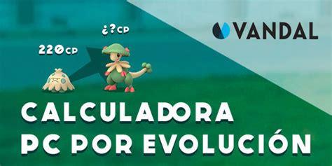calculadora evolucion pc pokemon  actualizada  gen