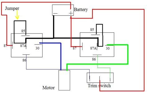 Tilt Only Wiring Diagram Page Iboats Boating Forums