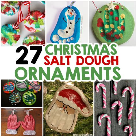 classic salt dough recipe for christmas ornaments 27 salt dough ornaments for i arts n crafts