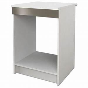 Meuble Avec Plan De Travail : meuble pour four encastrable a poser sur plan de travail ~ Dailycaller-alerts.com Idées de Décoration