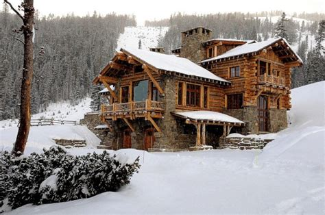 Rustic Home Exterior Design by 15 Snug Rustic Home Exterior Designs For The Cold Winter Days