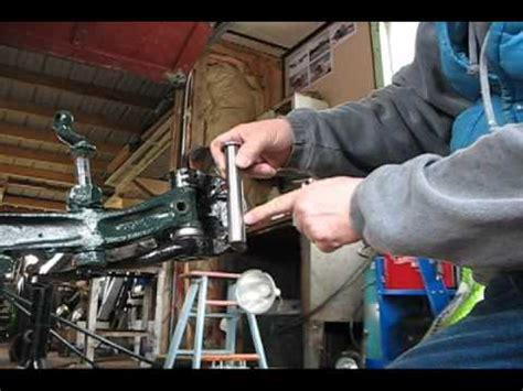 Kingpins & Bushings, rat rod installation - YouTube