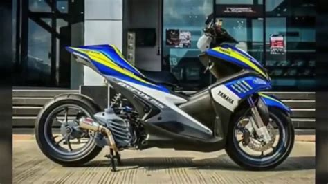Modifikasi Aerox 155 by Modifikasi Yamaha Aerox 155 2017