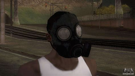 mascara de gas  gta san andreas