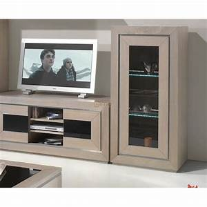 living meuble tv contemporain chene massif oak meubles elmo With meubles en chene massif contemporain