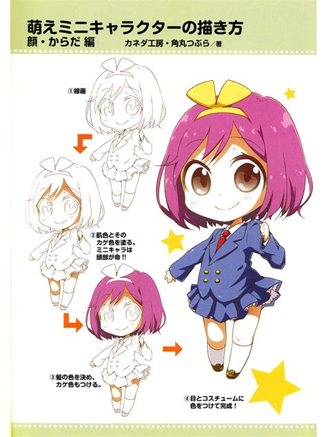 draw moeoh characters chibi sd characters