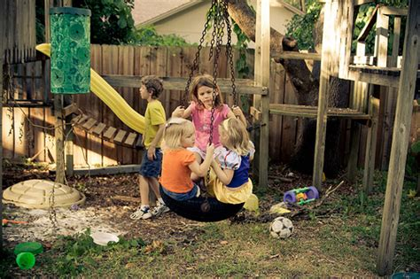 Kid Friendly Backyard Ideas On A Budget  Large And