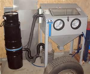 sandblast cabinet vacuum cabinets matttroy