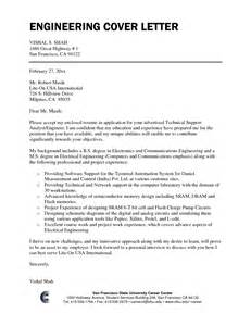 Engineering Resume Cover Letter Sles by Engineering Resume In Singapore Sales Engineering Lewesmr