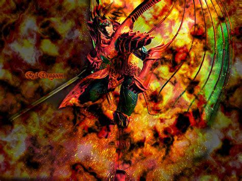 Legend Of Dragoon Wallpaper Red Dragoon Minitokyo