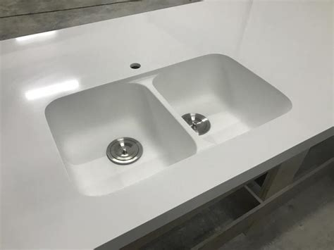 corian sinks and countertops glacier white corian countertops solid surface with sink