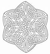 Celtic Coloring sketch template