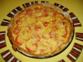 recete de cuisine tarte à la tomate et moutarde cuisine plurielles fr