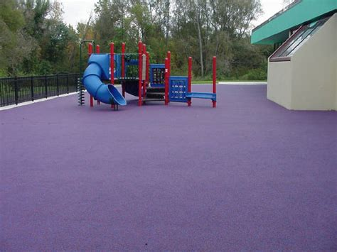 Poured Rubber Flooring For Playgrounds by Playground Surface Playground Rubber Flooring By Equi Turf
