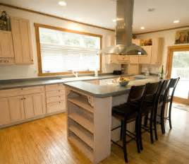 how to design a kitchen island with seating kitchen island with seating ideas homes gallery