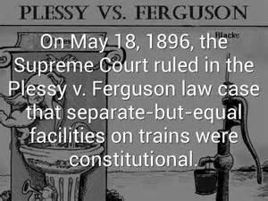 Image result for Plessy vs. Ferguson