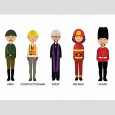 Characters Of Different Occupations Graphicloads