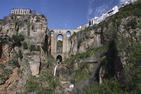 Puente Nuevo, Ronda, Andalusia, Spain ...