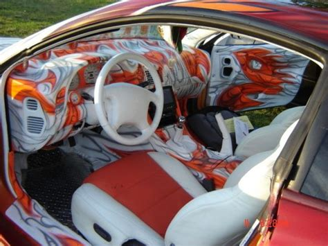 1997 mitsubishi eclipse custom paint job custom paint